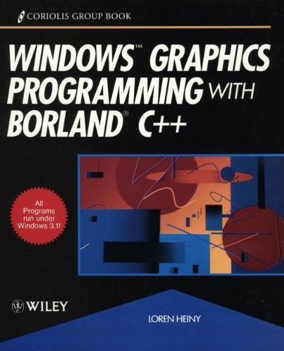9780471548911: Windows Graphics Programming with Borland C++