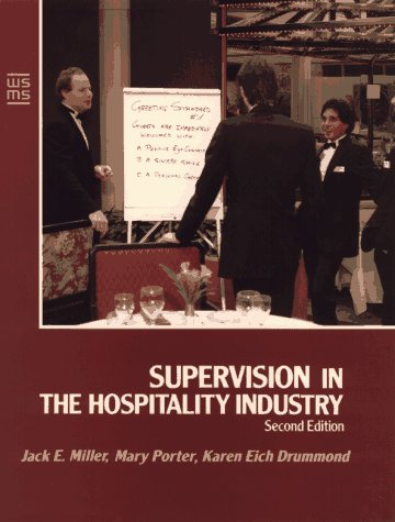 9780471549048: Supervision in the Hospitality Industry (Wiley Service Management Series)