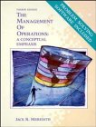 9780471549734: The Management of Operations