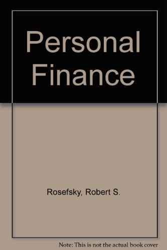 9780471549789: Personal Finance