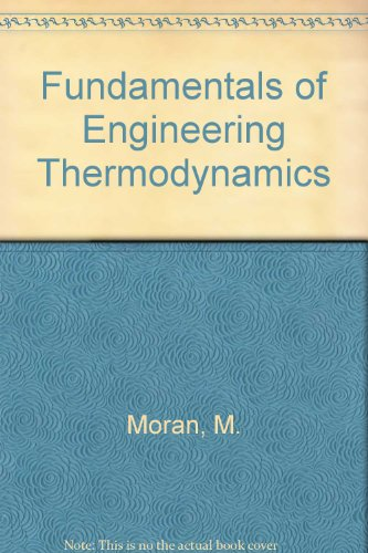 9780471550334: Fundamentals of Engineering Thermodynamics, Instructor's Manual