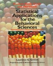 9780471550464: Statistical Applications for the Behavioral Sciences