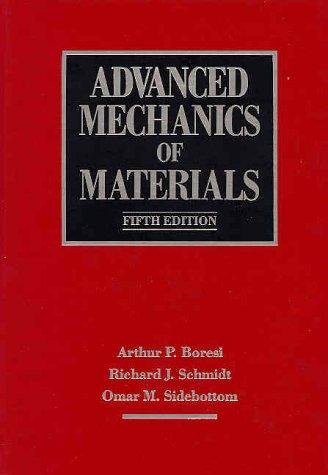 9780471551577: Advanced Mechanics of Materials