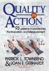 9780471552062: Quality in Action: 93 Lessons in Leadership, Participation, and Measurement