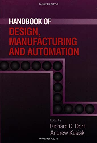 9780471552185: Handbook of Design, Manufacturing and Automation (Industrial Engineering)