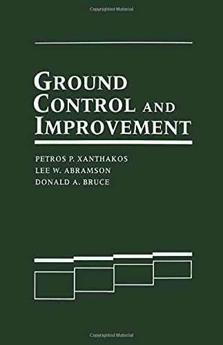 9780471552314: Ground Control and Improvement