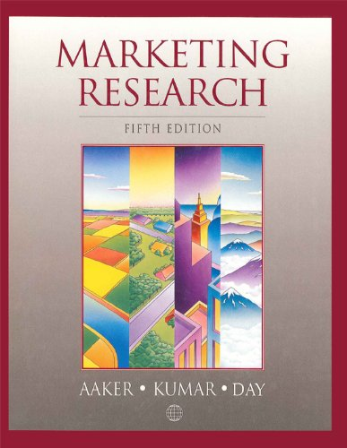 9780471552543: Marketing Research