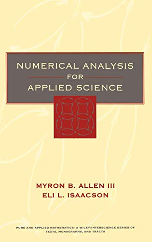 9780471552666: Numerical Analysis for Applied Science