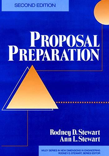 9780471552697: Proposal Preparation