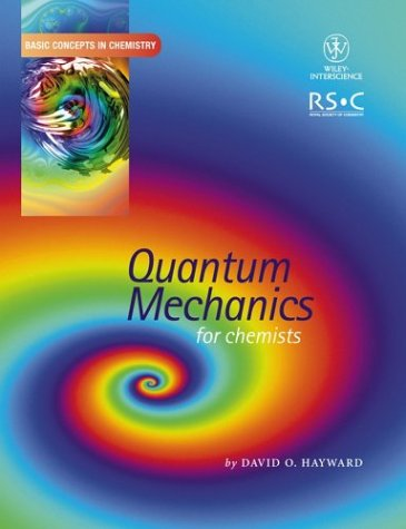 9780471553656: Quantum Mechanics for Chemists (Basic Concepts In Chemistry)