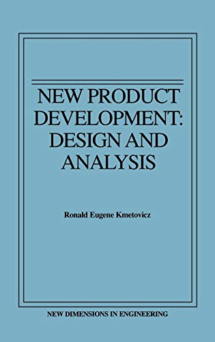 9780471555360: New Product Development: Design and Analysis