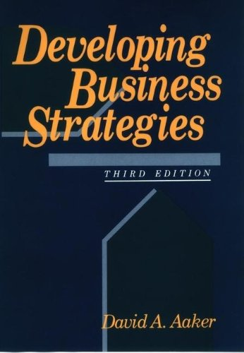 9780471557227: Developing Business Strategies (Ronald Series on Marketing Management)