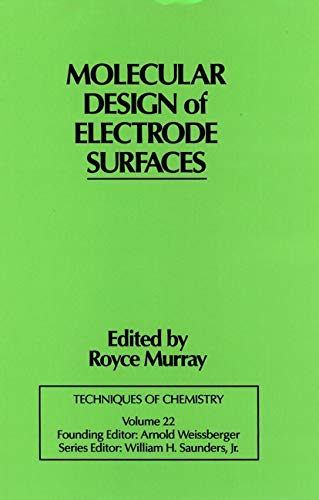9780471557739: Techniques of Chemistry: Molecular Design of Electrode Surfaces