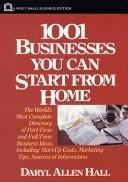 9780471558491: 1001 Businesses You Can Start From Home (Wiley Small Business)