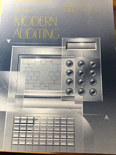9780471558651: Modern Auditing: Study Guide to 5r.e
