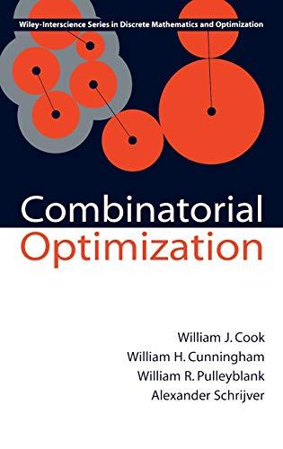 9780471558941: Combinatorial Optimization