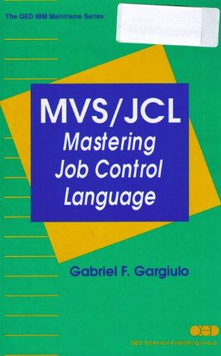 9780471561644: Mvs/Jcl: Mastering Job Control Language