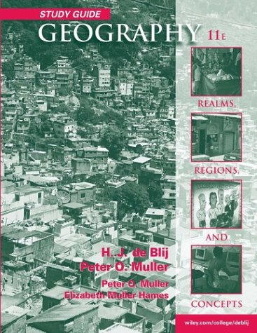 9780471566052: Geography, Study Guide: Realms, Regions and Concepts