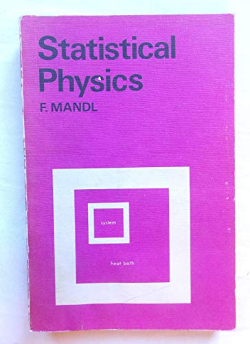 9780471566588: Statistical physics (The Manchester physics series)