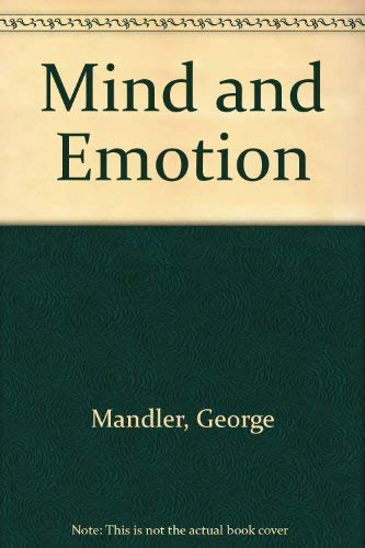 9780471566908: Mind and Emotion