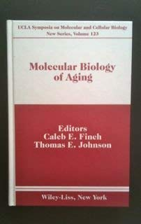 9780471567219: Molecular Biology of Aging (UCLA Symposia on Molecular and Cellular Biology)
