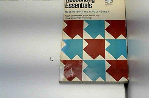 9780471568674: Accounting Essentials (Self-teaching Guides)