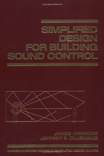 9780471569084: Simplified Design for Building Sound Control