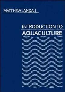 9780471570202: Introduction to Aquaculture