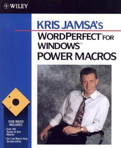 9780471571209: Kris Jamsa's WordPerfect for Windows Power Macros