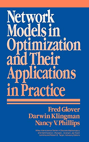 9780471571384: Network Models in Optimization and Their Applications in Practice