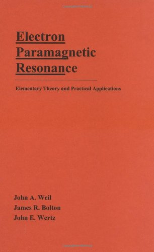 9780471572343: Electron Paramagnetic Resonance: Elementary Theory and Practical Applications