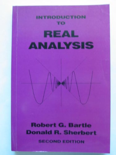 9780471572565: Introduction to Real Analysis
