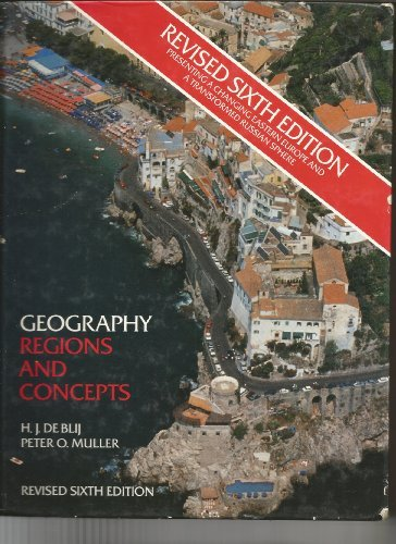 9780471572756: Geography Regions and Concepts