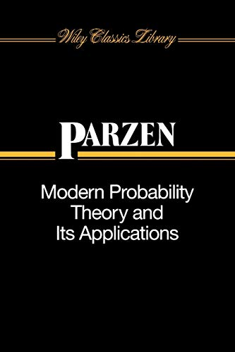 Modern Probability Theory and Its Applications (Wiley Classics Library)