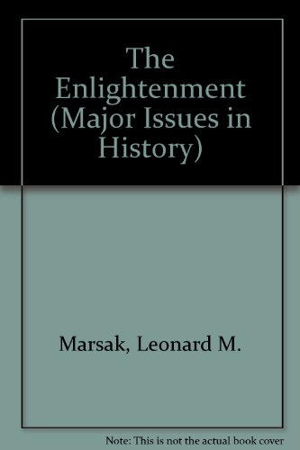 9780471572800: The Enlightenment (Major Issues in History)