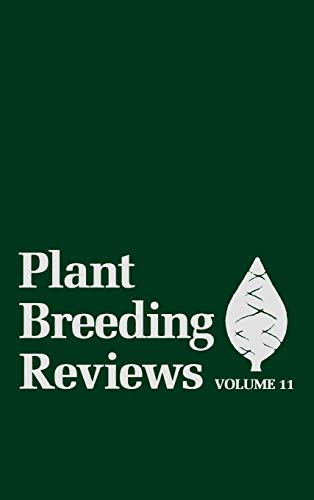 9780471573463: Plant Breeding Reviews (Horticultural Reviews) (Volume 11)