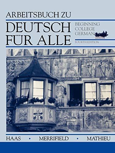 9780471573807: Deutsch für Alle, Workbook: Beginning College German