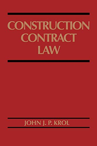 9780471574149: Construction Contract Law