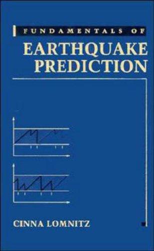 9780471574194: Fundamentals of Earthquake Prediction