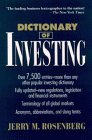 9780471574347: Dictionary of Investing (Business Dictionary Series)