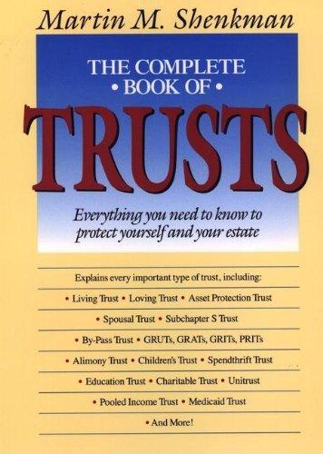 Shenkman: the Complete Book of Trusts (Cloth): Martin Shenkman