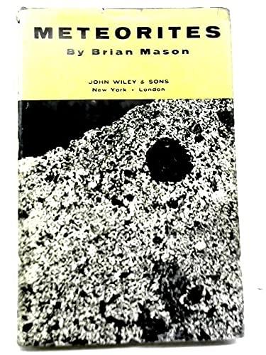 Meteorites (9780471575344) by Brian Mason