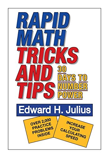 9780471575634: Rapid Math Tricks & Tips: 30 Days to Number Power