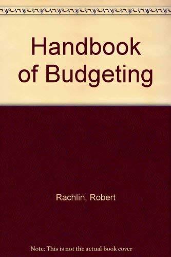 9780471577713: Handbook of Budgeting
