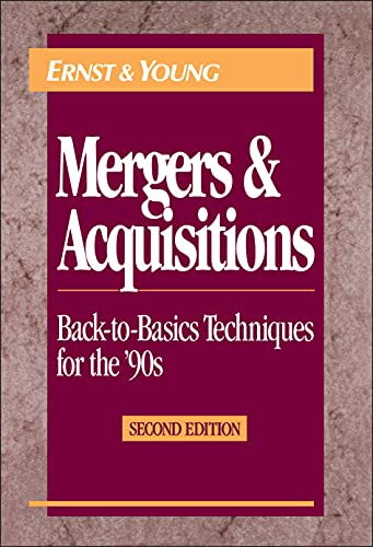 9780471578185: Mergers and Acquisitions, 2nd Edition