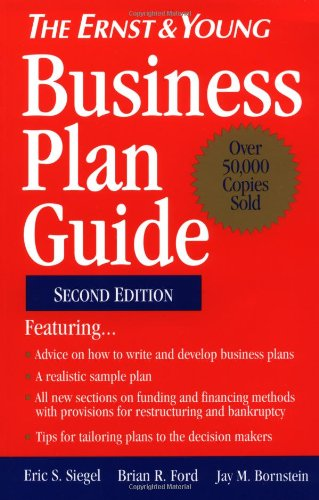 9780471578260: The Ernst & Young Business Plan Guide (Wiley/Ernst & Young business guides)