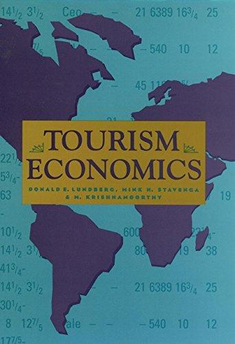 9780471578840: Tourism Economics