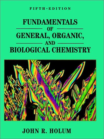 9780471579496: Fundamentals of General, Organic, and Biological Chemistry