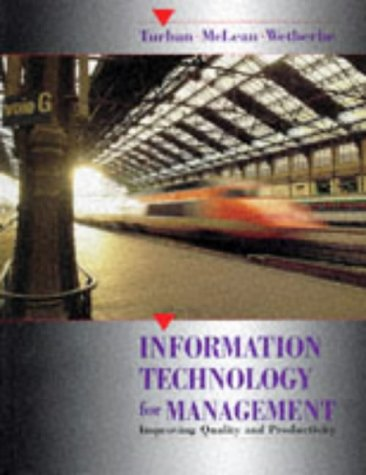 9780471580591: Information Technology for Management: Improving Quality and Productivity