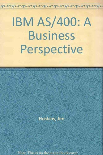 9780471580638: IBM AS/400: A Business Perspective